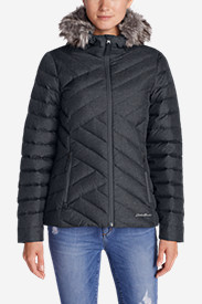 Water Resistant Jackets: Women's Slate Mountain Down Jacket