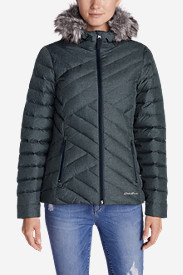 Blue Petite Outerwear for Women: Women's Slate Mountain Down Jacket