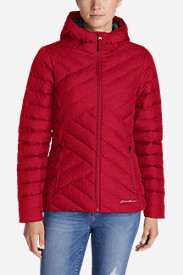 Red Jackets: Women's Slate Mountain Down Jacket