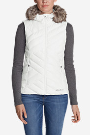 Womens Vests: Women's Slate Mountain Down Vest