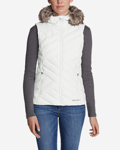 Snow Vests: Women's Slate Mountain Down Vest
