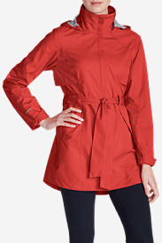 Water Resistant Jackets: Women's Kona Trench Coat