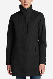 Water Resistant Jackets: Women's Eastside 3-In-1 Trench Coat