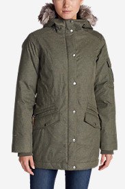 Fleece Parkas for Women: Women's Superior II Down Parka