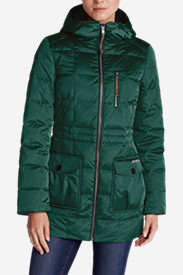 Green Petite Outerwear for Women: Women's Yukon Classic Down Parka