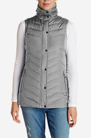 Cotton Vests: Women's Sun Valley Down Vest