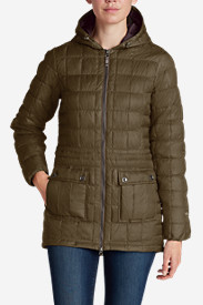 Gray Parkas for Women: Women's Super Sweater Down Parka