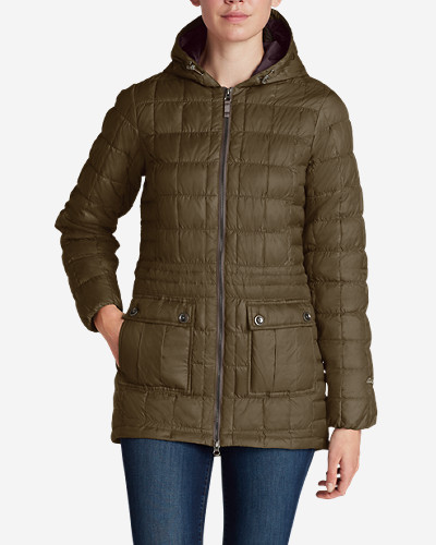 Petite Parkas: Women's Super Sweater Down Parka