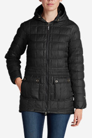 Nylon Parkas: Women's Super Sweater Down Parka