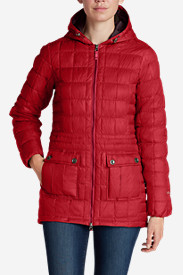 Red Jackets: Women's Super Sweater Down Parka