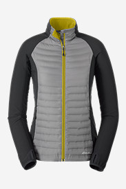 Water Resistant Jackets: Women's MicroTherm Down Flux Jacket