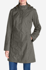 Waterproof Trench Coats for Women: Women's Girl on the Go Trench Coat