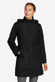 Water Resistant Jackets: Women's Girl On The Go Insulated Trench Coat