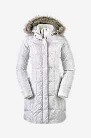 White Parkas for Women: Women's Lodge Down Parka