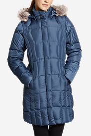 Blue Petite Outerwear for Women: Women's Lodge Down Parka
