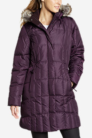 Purple Jackets: Women's Lodge Down Parka