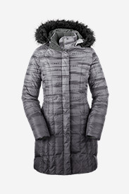 Gray Parkas for Women: Women's Lodge Down Parka