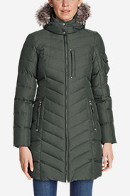Green Petite Outerwear for Women: Women's Sun Valley Down Parka