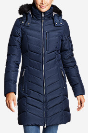 Blue Petite Outerwear for Women: Women's Sun Valley Down Parka