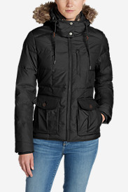 Water Resistant Jackets: Women's Yukon Classic Down Jacket