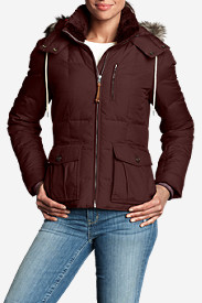 Red Jackets: Women's Yukon Classic Down Jacket