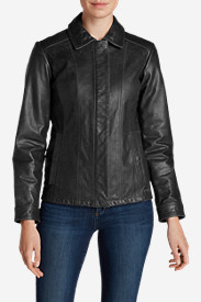 Leather Jackets: Women's Leather Stine Jacket