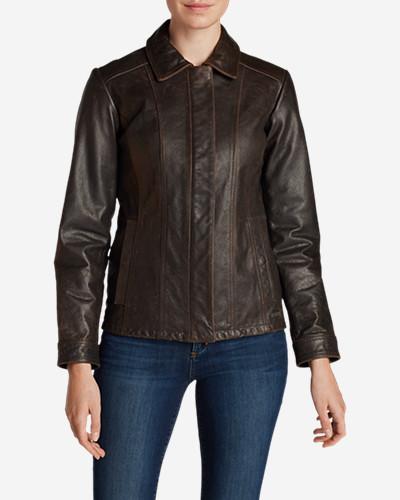 Women's Leather Stine Jacket
