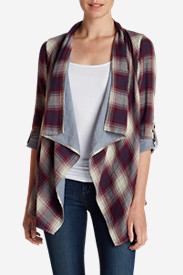 Wrap Tops for Women: Women's Treeline Wrap