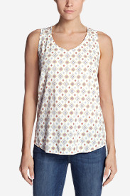 Women's Thistle Tank Top - Printed
