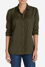 Women's Tranquil Long-Sleeve Shirt - Solid