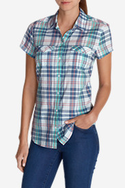 Short Sleeve Tops for Women: Women's Packable Short-Sleeve Shirt