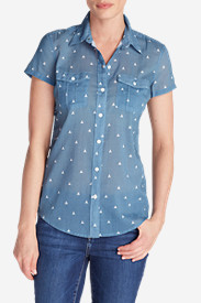 Women's Packable Short-Sleeve Shirt - Print