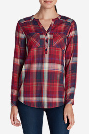 Women's Tree Line Double-Cloth Tunic Shirt