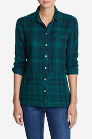 Women's Treeline Shirt - Mixed Plaid