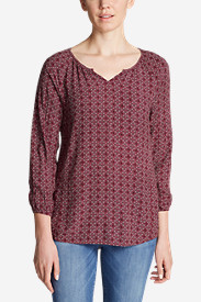 Women's Thistle 3/4-Sleeve Popover Shirt