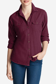 Women's Stine's Favorite Flannel Shirt - Solid