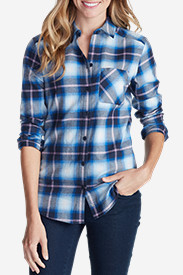 Women's Stine's Favorite Flannel Shirt - One-Pocket Boyfriend