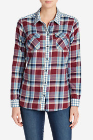Women's Stine's Favorite Flannel Mixed Plaid Shirt