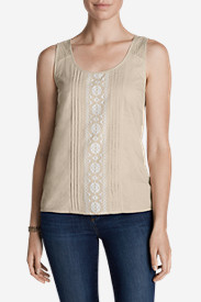 Cotton Tops for Women: Women's Bohemia Tank Top