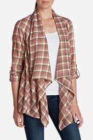 Cotton Tops for Women: Women's Paintbrush Cardigan