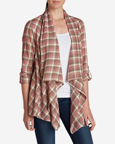 Cotton Cardigans for Women: Women's Paintbrush Cardigan