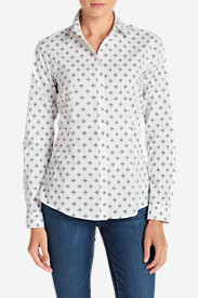 New Fall Arrivals: Women's Wrinkle-Free Long-Sleeve Shirt - Print