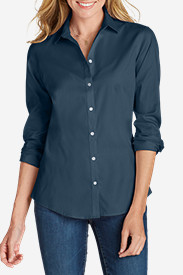 Women's Wrinkle-Free Long-Sleeve Shirt - Solid