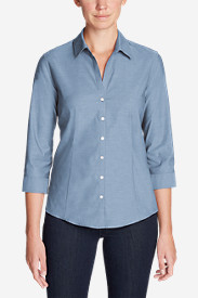 Women's Wrinkle-Free 3/4-Sleeve Shirt - Solid