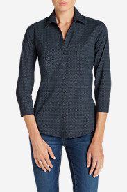 New Fall Arrivals: Women's Wrinkle-Free 3/4-Sleeve Shirt - Print