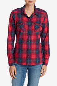 Plus Size Flannel Shirts for Women: Women's Stine's Favorite Flannel Shirt - Plaid