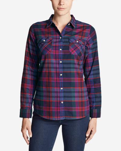 bb92ff0d2c5 Women's Stine's Favorite Flannel Shirt - Plaid