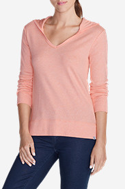 Women's Favorite V-Neck Hoodie - Solid