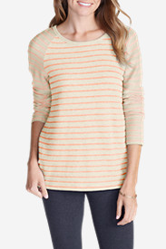 Orange Tops for Women: Women's Seaview Tunic