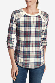 Women's Legend Wash Sweatshirt - Plaid